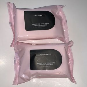 MAC Gently Off Wipes + Micellar Water- 2 BRAND NEW